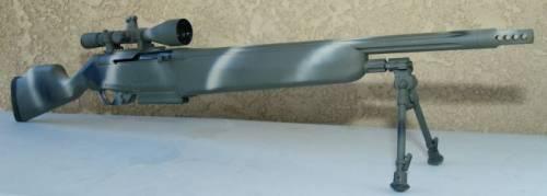 Снайперская винтовка VR1 в камуфляжной окраске